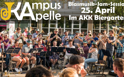 Blasmusik Jam-Session am 25. April