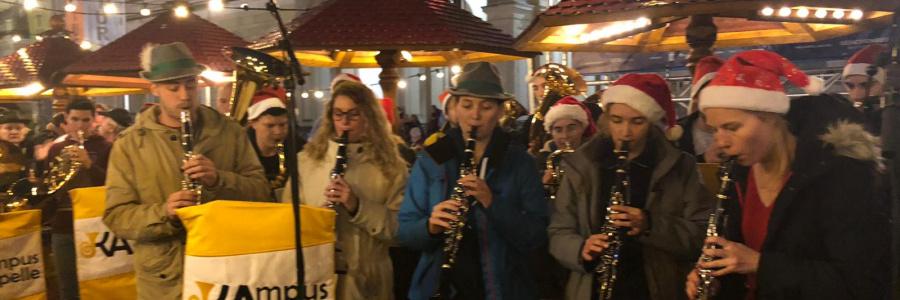 Eröffnung der Weihnachtsstadt Karlsruhe